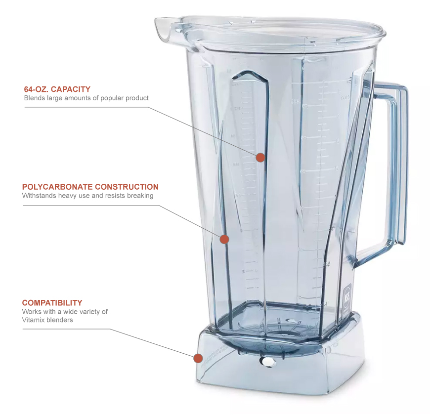 Vitamix 758 Features