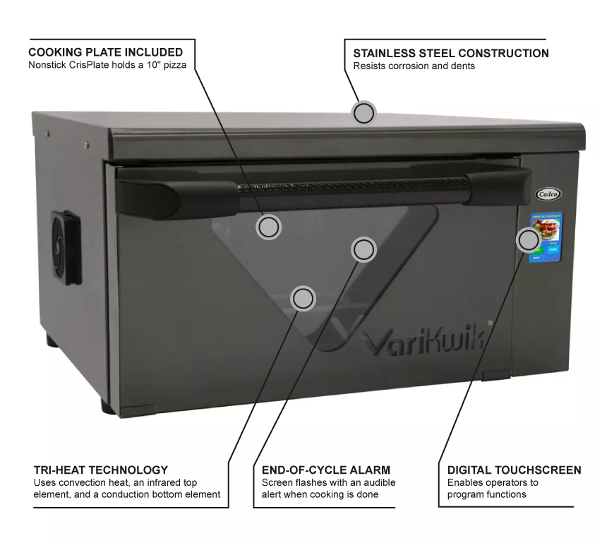 Cadco VK220 Features