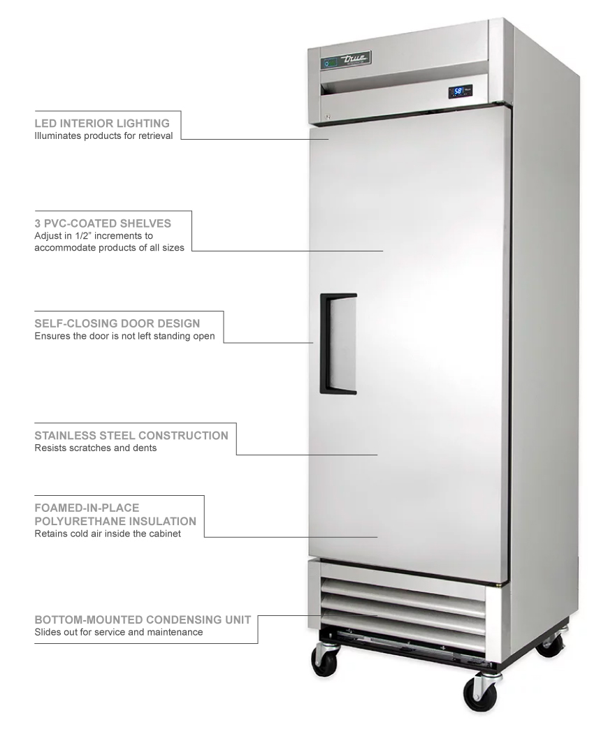 True Refrigeration T19 Features