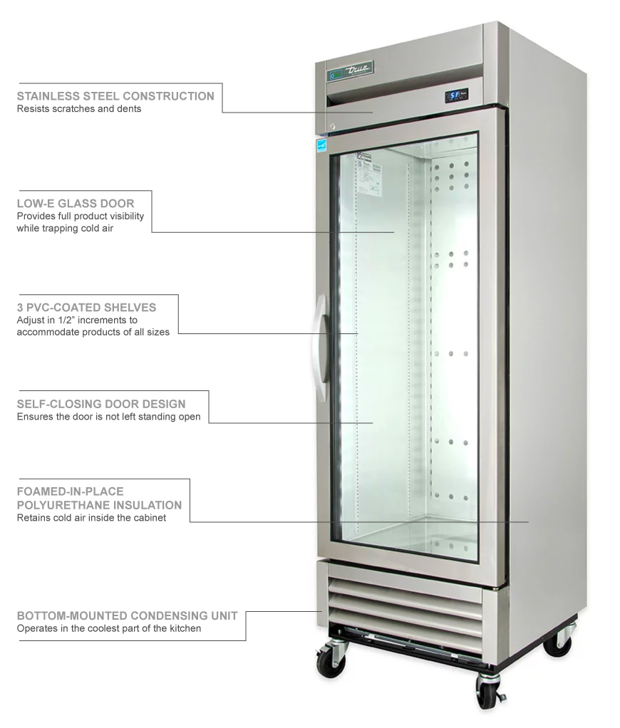 True Refrigeration T19G Features