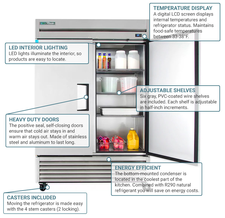 Product Features  sc 1 st  KaTom Restaurant Supply : true freezer t 49f wiring diagram - yogabreezes.com