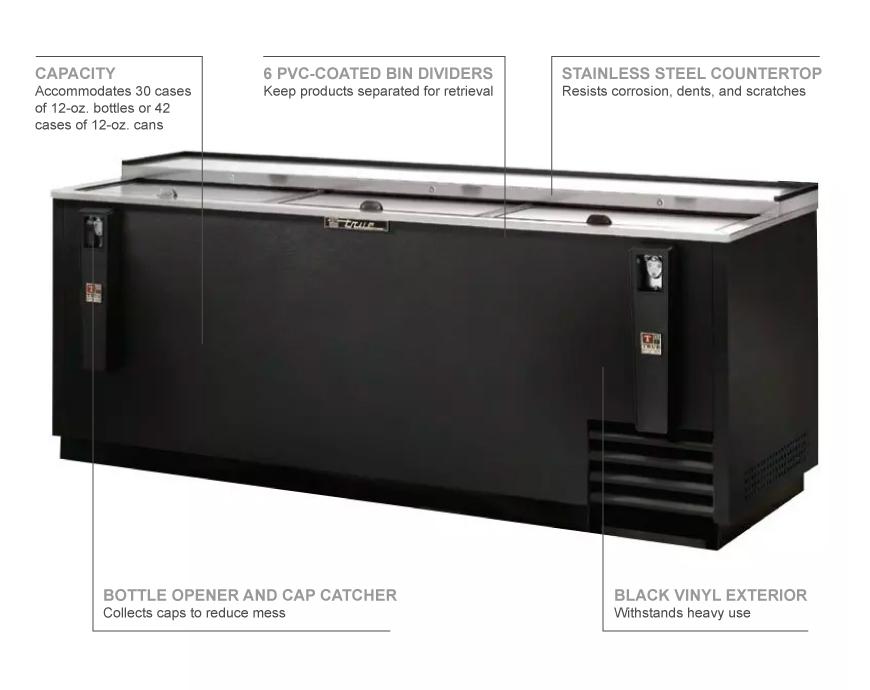 True Refrigeration TD8030 Features