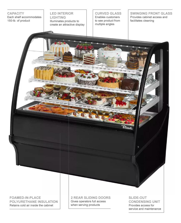 True Refrigeration TDMR48GEGEBW Features