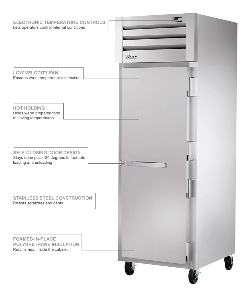 True Refrigeration TG1H1S Features