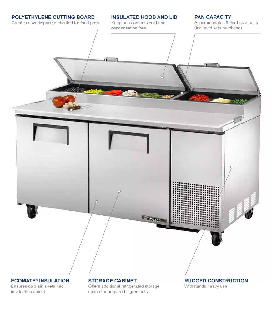 True Manufacturing tpp67 Features