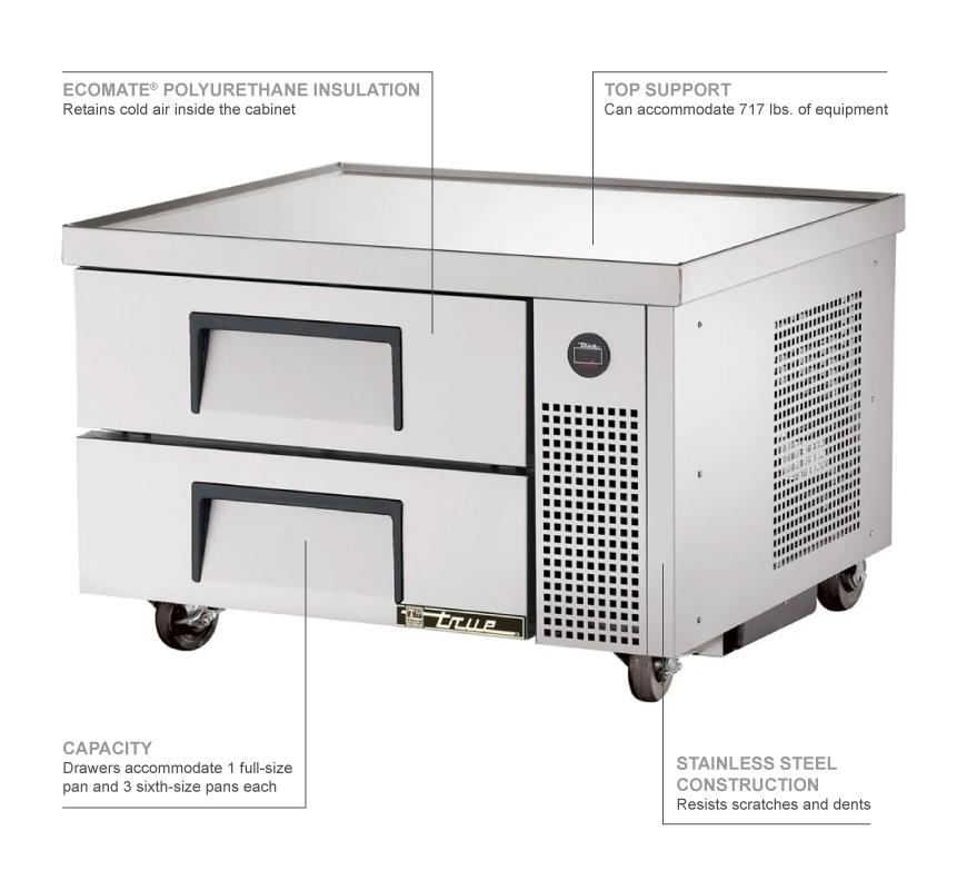 True Refrigeration TRCB36 Features