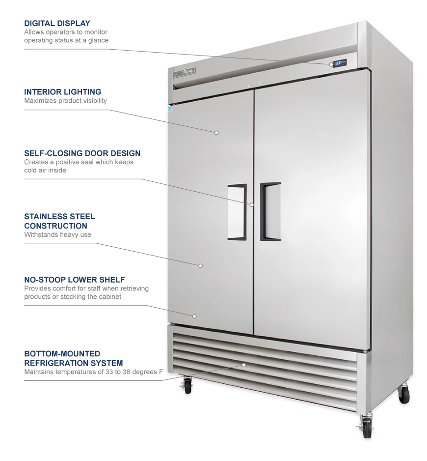 True Manufacturing ts49 Features