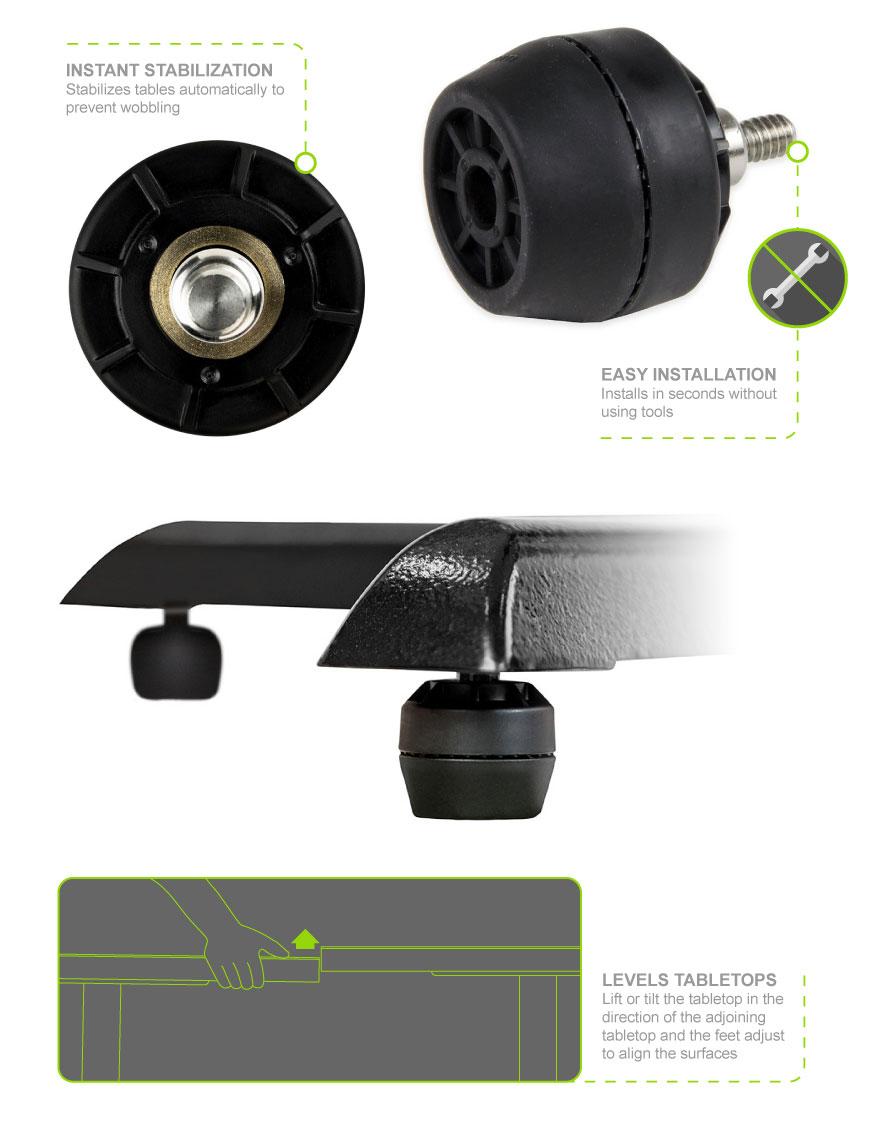 Flat Tech FRB1004A01 Features